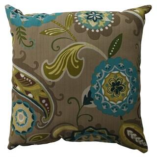 Pillow Perfect Merrimack Suzani 16.5-inch Throw Pillow