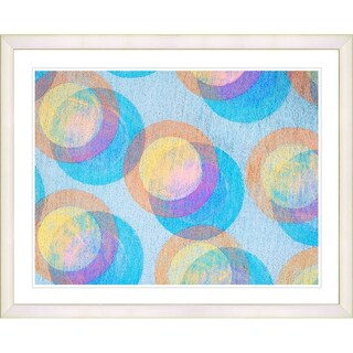Studio Works Modern 'Circle Series' Framed Fine Art Giclee Print