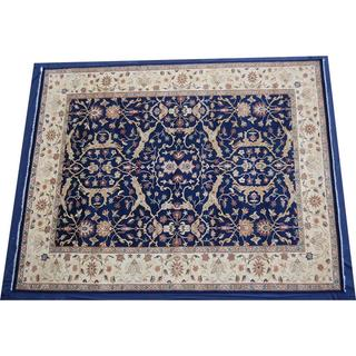 Herat Oriental Indo Hand-knotted Vegetable Dye Wool Rug (12' x 14'11)