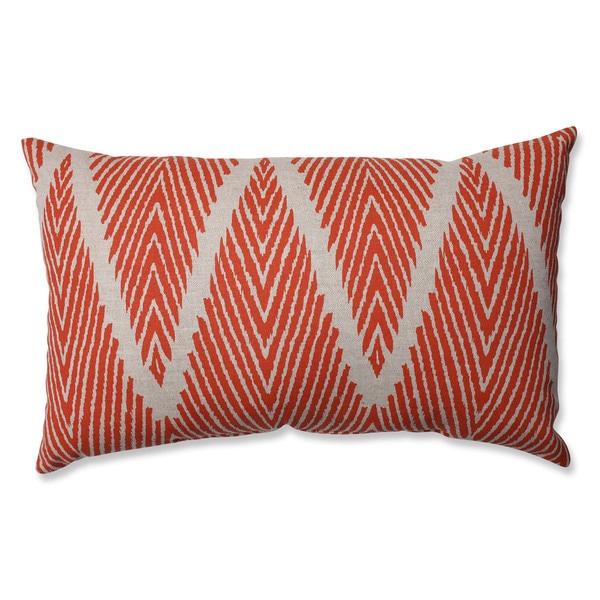Pillow Perfect Bali Mandarin Rectangular Throw Pillow