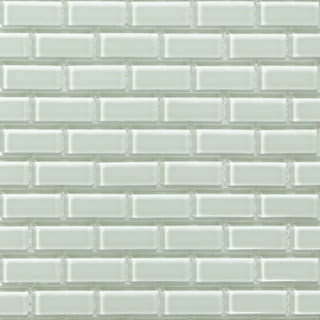 Martini Mosaic 'Essen' Mint Glass 11.75 x 11.75-inch Tile Sheets (Set of 10 sheets)