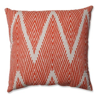 Pillow Perfect Bali Mandarin 18-inch Throw Pillow