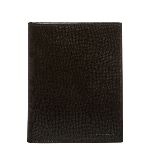 d4361758754c Shop Prada Saffiano Leather Travel Wallet - Free Shipping Today ...