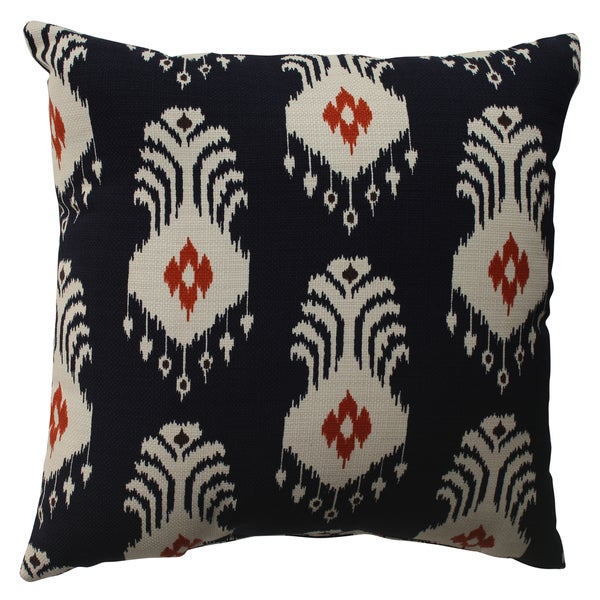 Pillow Perfect Ikat Crete 16.5-inch Throw Pillow