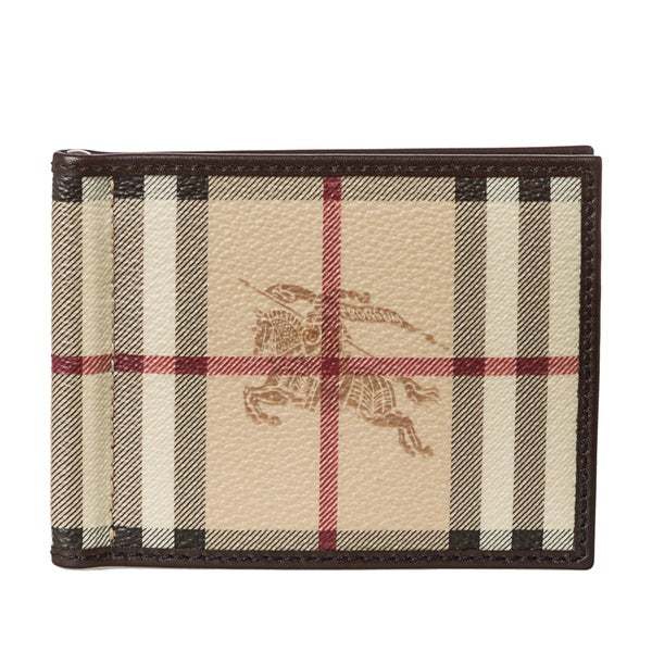 8f80c98c59a2 Shop Burberry Money Clip Wallet - Free Shipping Today - Overstock ...