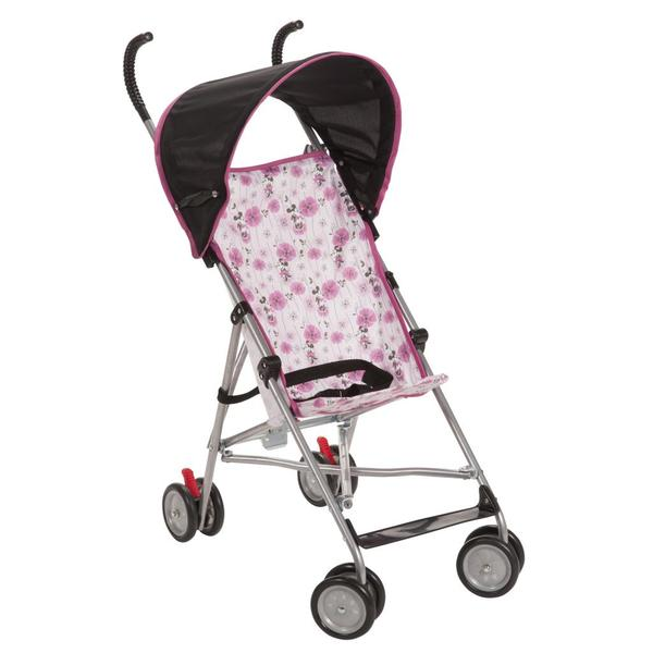 Disney Floral Minnie Canopy Umbrella Stroller