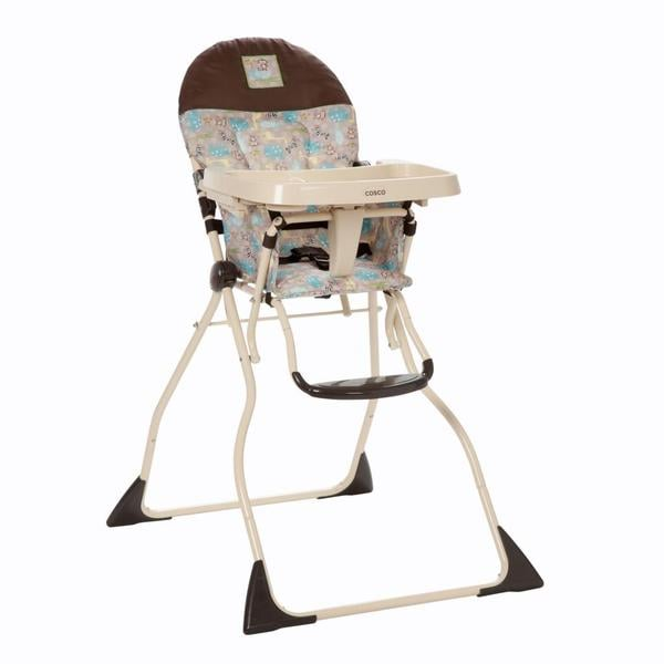 cosco slim fold high chair in kontiki free shipping