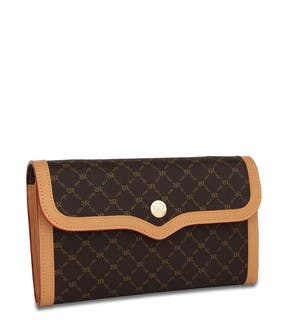 Rioni Signature 'The Everyday' Brown Clutch|https://ak1.ostkcdn.com/images/products/8107889/8107889/Rioni-Signature-The-Everyday-Brown-Clutch-P15456889.jpg?impolicy=medium