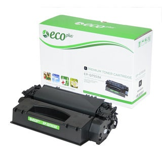 EcoPlus Black HP Q7553X Remanufactured Toner Cartridge