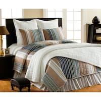 William Striped 3-piece Quilt Set