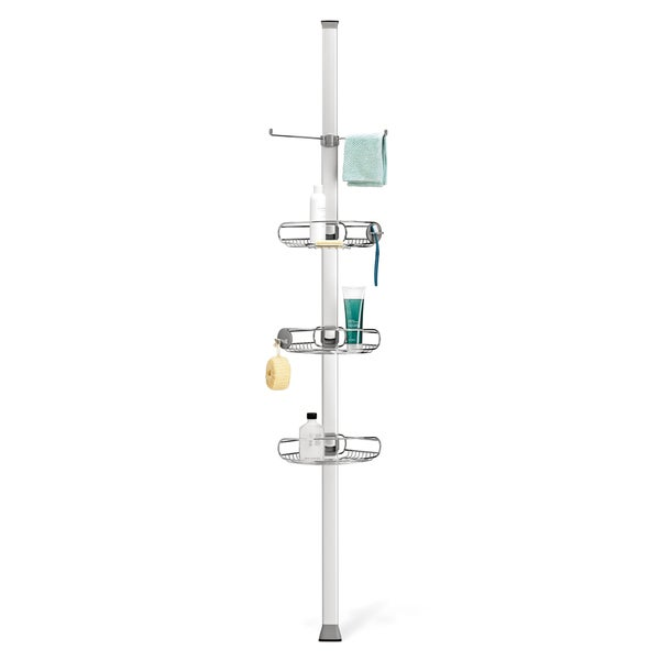 Simplehuman Adjustable Tension Shower Caddy Free Shipping Today . Patio  Caddie ...