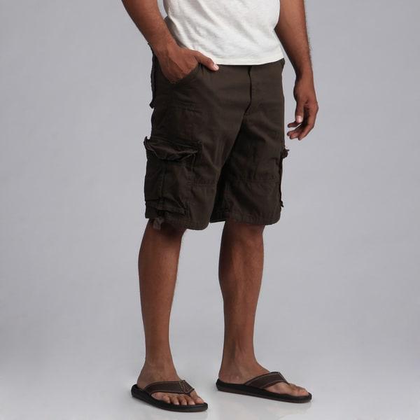 Agile Men's Belted Cargo Shorts