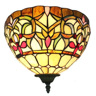 Amora Lighting Tiffany Style 1-light Wall Lamp