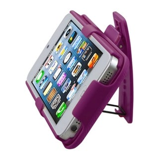 INSTEN Hot Pink Hybrid Holster for Apple iPhone 5/ 5S/ SE