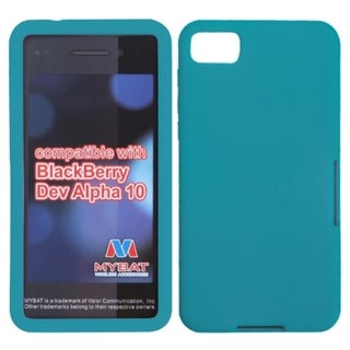 INSTEN Solid Tropical Teal Skin Phone Case Cover for Blackberry Z10