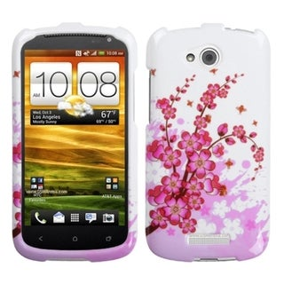 INSTEN Spring Flowers Phone Case Cover for HTC One VX