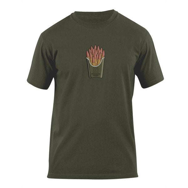 5.11 Freedom Fries OD Green Cotton T-Shirt