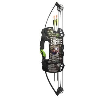 Barnett Banshee Youth 25-pound Compound Bow Set