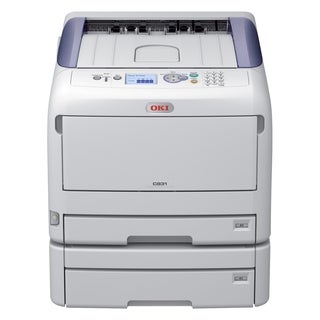 Oki C800 C831DN LED Printer - Color - 1200 x 600 dpi Print - Plain Pa