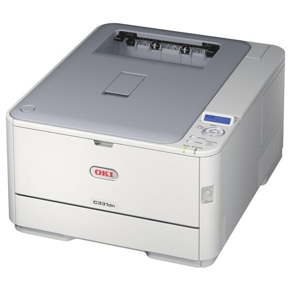 Oki C331DN LED Printer - Color - 1200 x 600 dpi Print - Plain Paper P