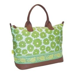 Women's Amy Butler Marni Duffle Poppies Green