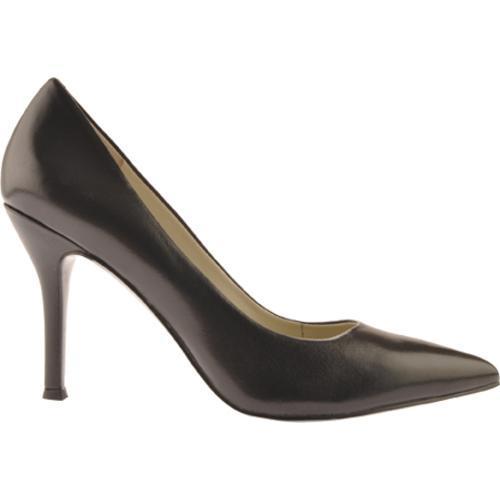 Women's Nine West Flax Black 2 Leather - Thumbnail 1