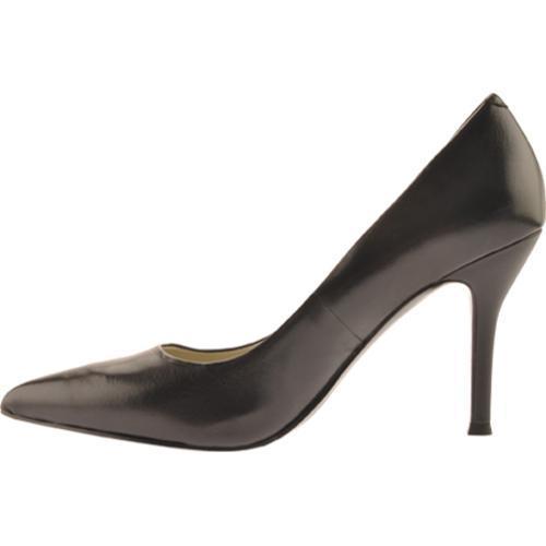 Women's Nine West Flax Black 2 Leather - Thumbnail 2
