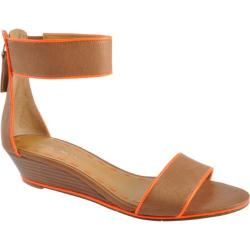 Women's Nine West Vilta Natural/Orange Leather