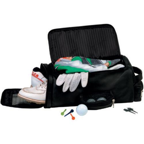 Royce Leather Golf Shoe And Accessory Bag 677-10 Black