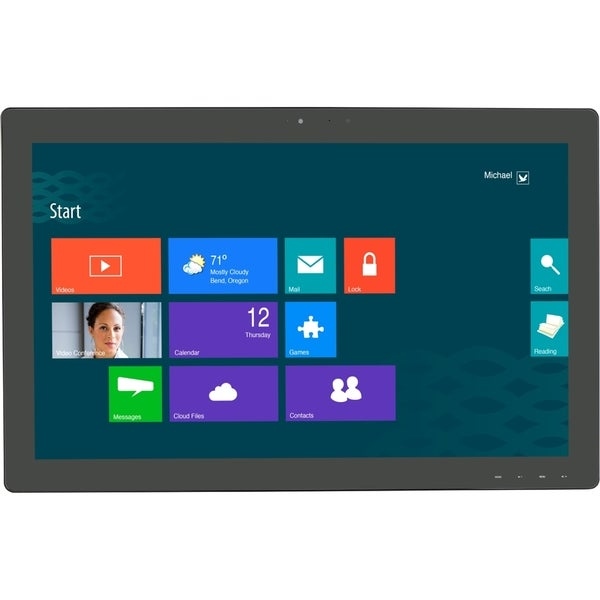"""Planar Helium PCT2485 24"""" LCD Touchscreen Monitor - 16:9 - 14 ms"""