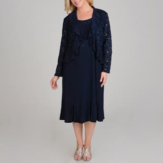 R & M Richards Plus Size Sequin Lace 2-piece Navy Jacket Dress|https://ak1.ostkcdn.com/images/products/8110222/8110222/R-M-Richards-Plus-Size-Sequin-Lace-2-piece-Navy-Jacket-Dress-P15458807.jpg?impolicy=medium