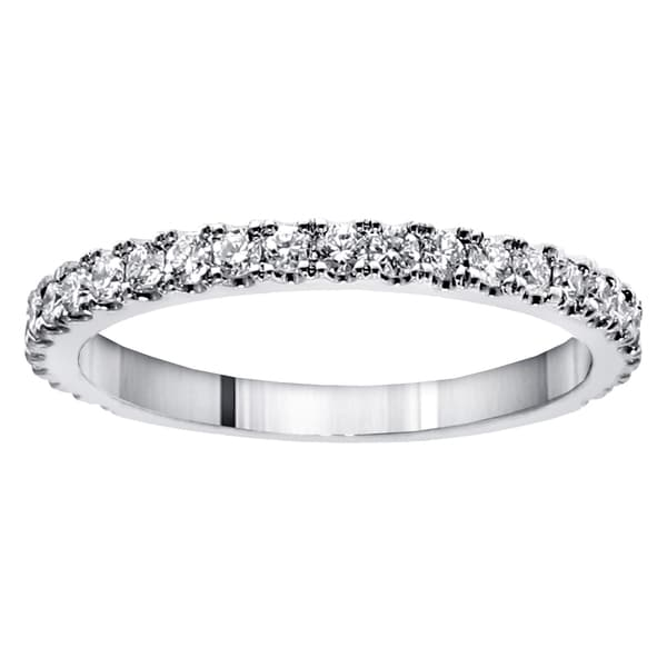 14k/ 18k Gold 5/8ct TDW Round-cut Diamond Wedding Band
