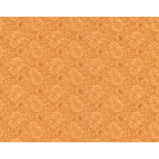 Brewster Light Brown Jacobean Texture Wallpaper