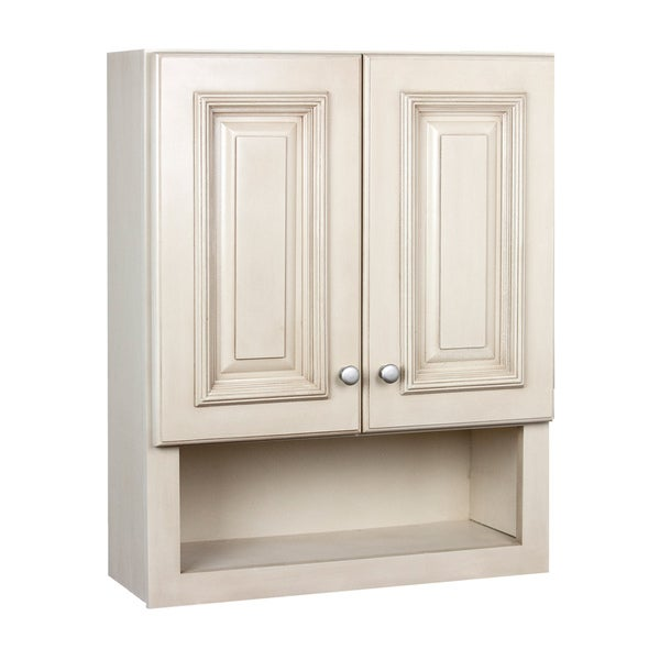 maple bathroom wall cabinet shop tuscan maple 2 door bathroom wall cabinet free 23031