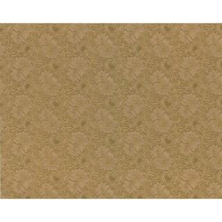 Brewster Brown Jacobean Texture Wallpaper
