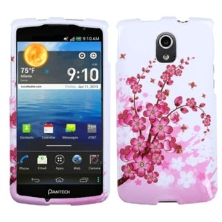 INSTEN Spring Flowers Phone Case Cover for Pantech Discover P9090