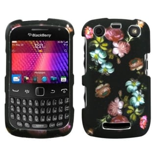 INSTEN Blooming Flowers Phone Case Cover for Blackberry Curve 9360/ 9350/ 9370