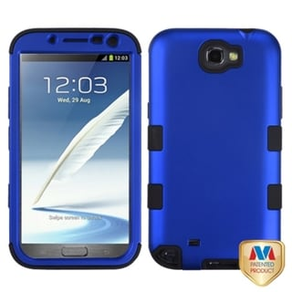 INSTEN Blue/ Black TUFF Hybrid Phone Case Cover for Samsung Galaxy Note 2 T889