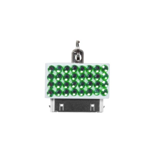 INSTEN Green Data Dust Cap for Apple iPhone 4/ 4S/ iPod Touch 4/ iPad