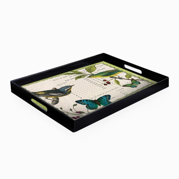 Notions Summer Pages Rectangle Tray
