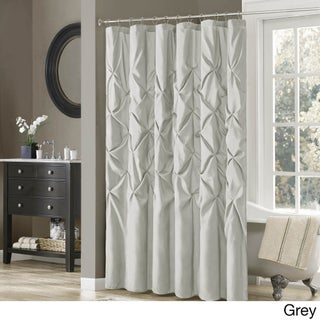 """Clay Alder Home Niantic Polyester Shower Curtain (Option: 72x72"""" - Grey)"""