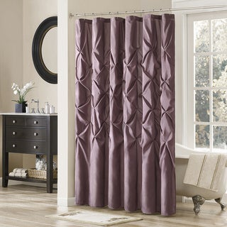 burgundy shower curtain sets. madison park vivian polyester shower curtain burgundy sets