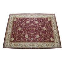 Herat Oriental Indo Hand-knotted Vegetable Dye Wool Rug (17'10 x 25'2) - 17'10 x 25'2