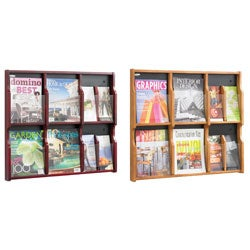 Safco Expose 6 Magazine, and 12 Pamphlet Literature Display