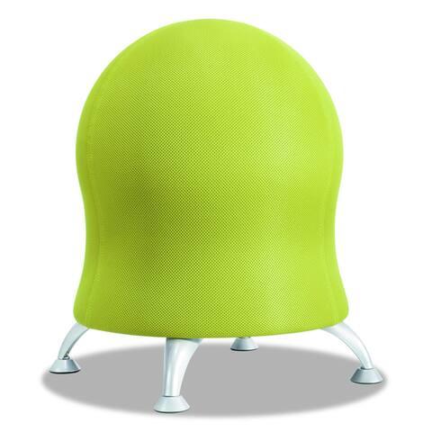 Safco Zenergy Antiburst Exercise Ball Chair with Stationary Glides - Orange