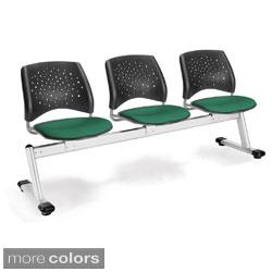 OFM 3 Seat Star Series Beam Seating