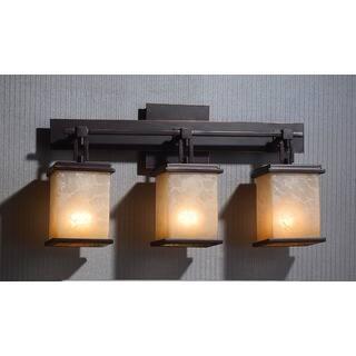 Vanity lights wall lights for less overstock oliver james hans 3 light vanity aloadofball Gallery