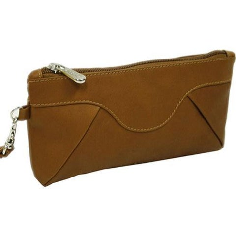 Piel Leather Rainbow Saddle Women's Wristlet