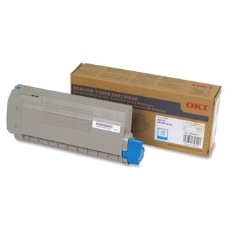 Oki Cyan Toner Cartridge - 11500 Pages