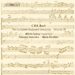 C.P.E. BACH - KEYBOARD CONCERTOS VOL. 18